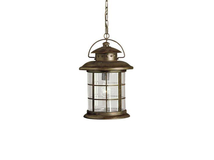 Rustic 1 Light Outdoor Hanging Lantern
