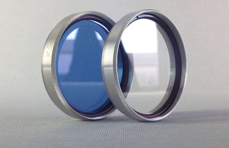 Farbfilter blau color filter blue 49mm for lens