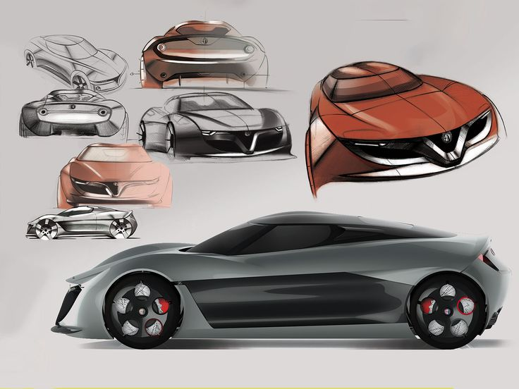Zagato Alfa Romeo Division 2019 Concept by Marco De Toma