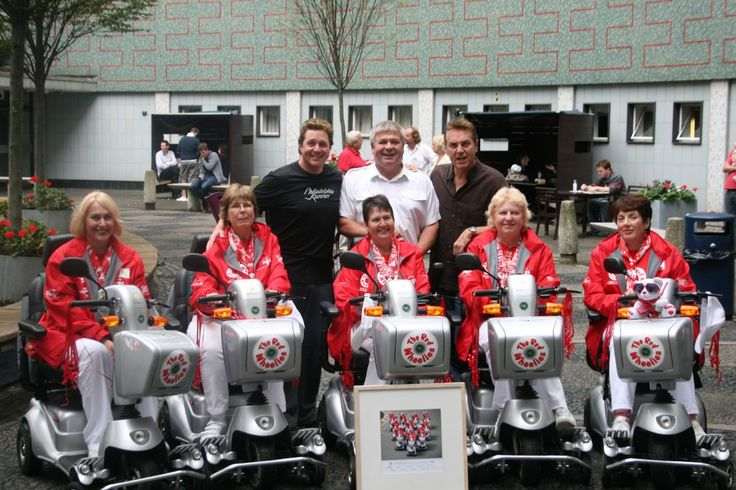 Quingo Scooters want to take you back to August 2010, when the UK's only Mobility Scooter Formation Display Team took to the stage of ITV's 'The Michael Ball Show' to promote mobility scooter safety on their trusty Quingos.