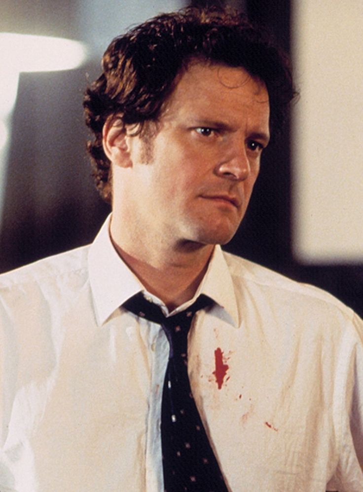 Colin Firth as Mark Darcy in 'Bridget Jones's Diary'