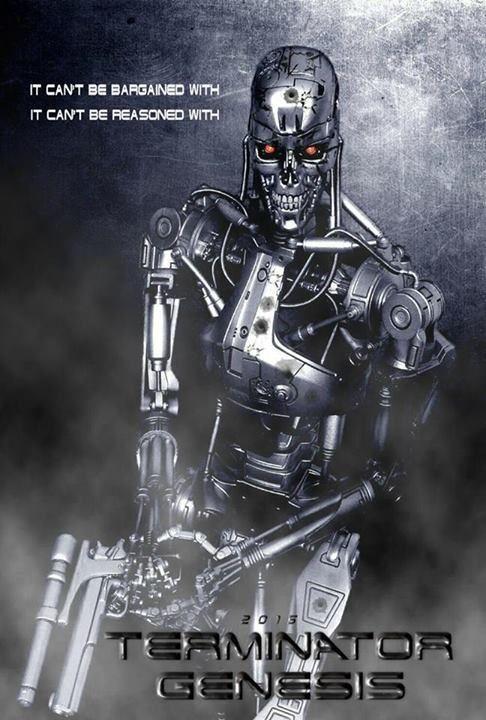 terminator posters | Terminator Genesis Fan Art Poster