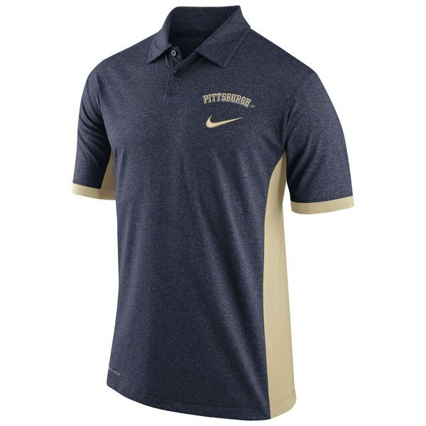 Pitt Panthers Nike Basketball Performance Polo - Navy - $44.99