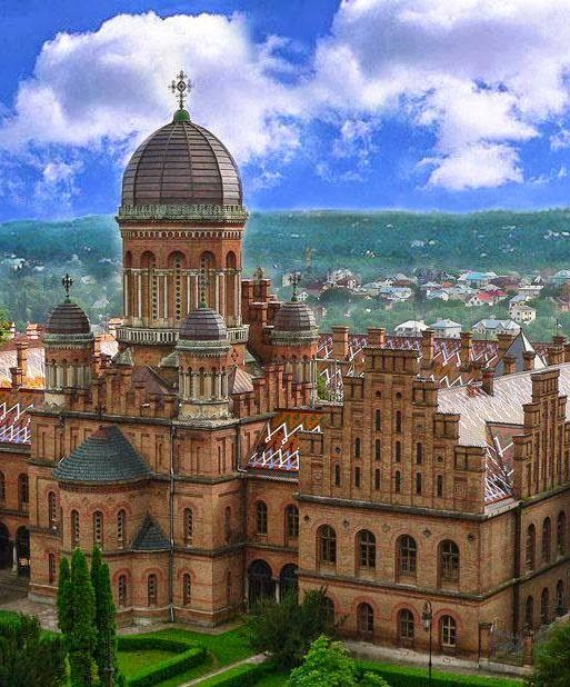 My University I attended from 1995-2000 in Chernivtsi , Ukraine
