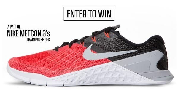 Nike Metcon Shoes April GiveawayGIVEAWAY RULES AND FAQ Eligibility You must be 18 years old or older. You must be a legal resident of the US and have a US postal address where the product can be sent. IAB Brands, Inc apologizes for exc...