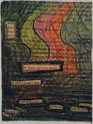 black out poetry don 39 t don 39 t don 39 t by julie jordan