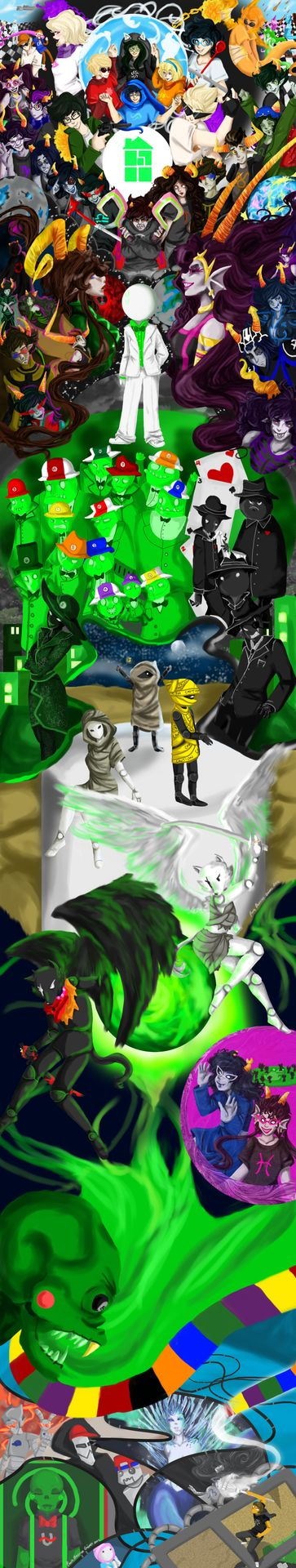 homestuck let me tell you about homestuck huge poster what
