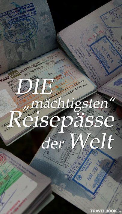 """Die Website """"Passportindex"""" hat eine Übersicht erstellt, die zeigt, welche Reisepässe am nützlichsten sind. Der deutsche Pass landet im Ranking wieder ganz oben."""