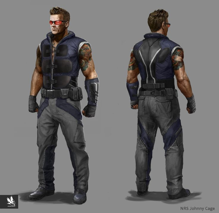 MKX- Johnny Cage, Atomhawk Design on ArtStation at https://www.artstation.com/artwork/mkx-johnny-cage