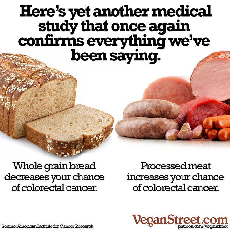 This is getting to be about as common as saying that smoking is bad for you or driving drunk increases you chance of a car accident. But yet another medical study says that if you quit eating processed meat, it could - quite literally - save your butt. http://veganstreet.com/dailymeme-9-25-17.html