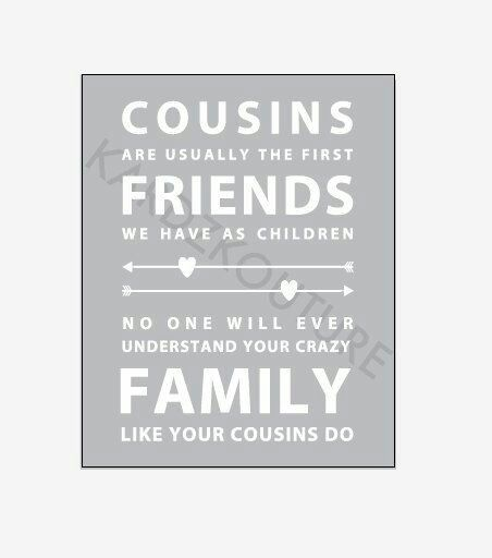 Best 25+ Quotes About Cousins Ideas On Pinterest