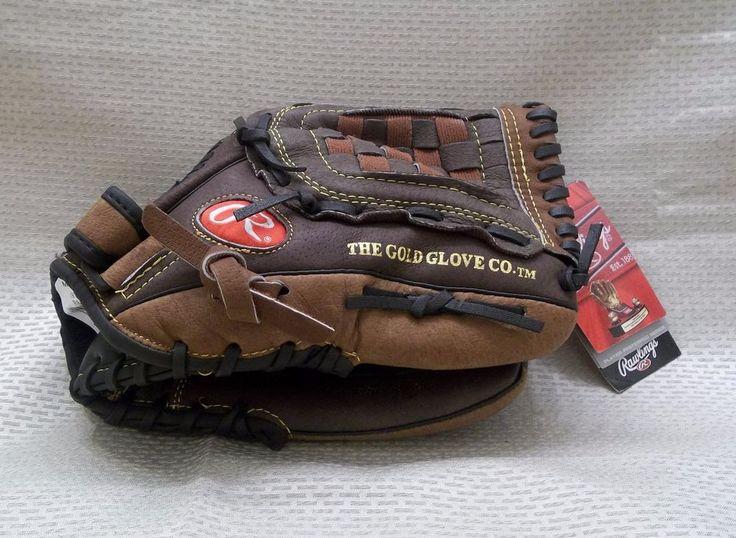 "Rawlings PP1910DB 12"" Leather Youth Baseball Glove Player Prefered Basket-Web #Rawlings"