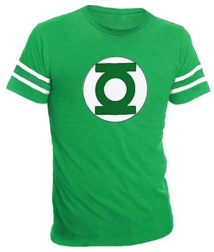 Whether you're shopping for a DC Comics superhero shirt for a Christmas gift, a Green Lantern t-shirt for Christmas, or a Green Lantern Dr. Sheldon Cooper Big Bang Theory, this officially-licensed Green Lantern Logo t-shirt might be exactly what you're looking for.  Featuring the DC Comics Green Lantern logo, this Green Lantern superhero tee is awesome.