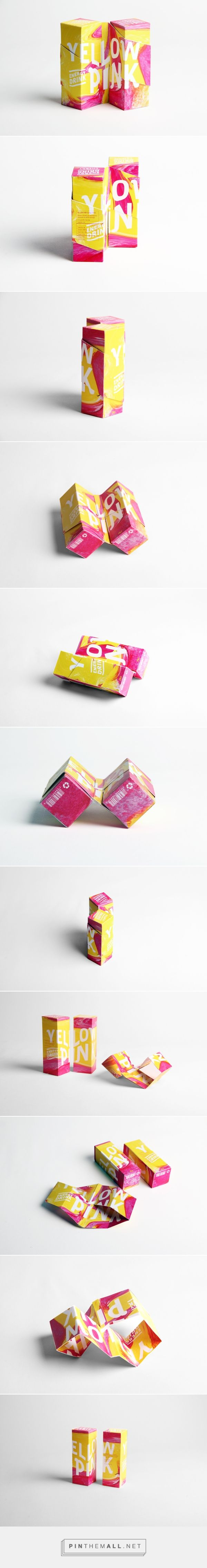 YELLOW PINK /  YELLOW PINK Energy Drink Composed by two different juice flavors in order to be mixed.