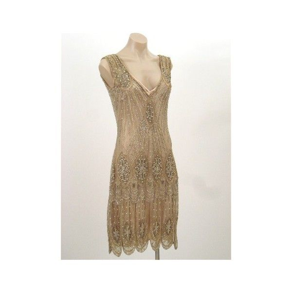 now all i need is a martiniFlappers Dresses, Flapper Dresses, Gold Beads, Style Gold, Sequins Flappers, 20 S Style, 20S Style, 20S Beads Dresses, Beads Sequins