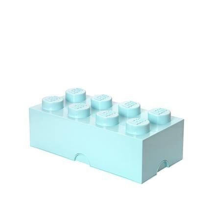 Lego Storage Box 8, aqua, Room Copenhagen, Room Copenhagen