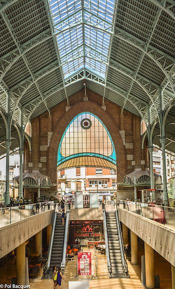 Valencia, Spain. Mercado Colon by Pol Bacquet