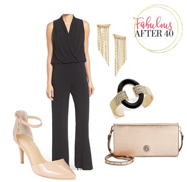 Would you wear a dressy jumpsuit instead of a cocktail dress this party season? Evening jumpsuits are selling like crazy because they make you look classy, comfortable and look pretty darn sexy. Take a look.