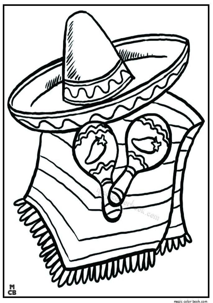 Mexico Coloring Pages Free Online With Images Coloring Pages
