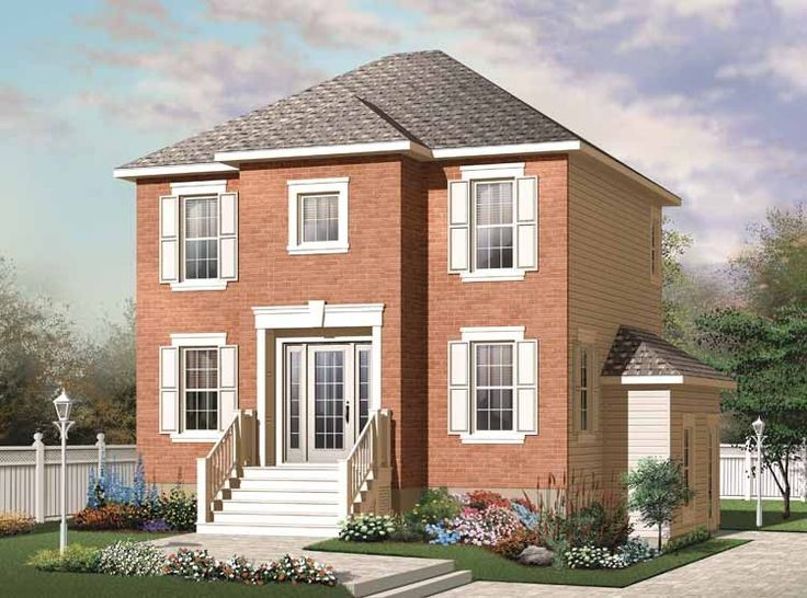 100 Small European House Plans 12 Modern House Plans