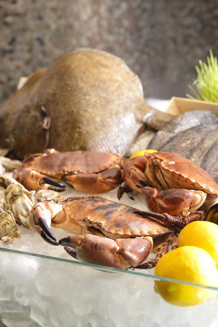 Fresh seafood ingredients to create your Mediterranean dishes that will satisfy your appetite. #Mediterranean #Food #Seafood #Ingredients #Flavors #International #Buffet #Lunch #Dinner #Promotion #August #Renaissance #Bangkok #Ratchaprasong #Hotel#crabs
