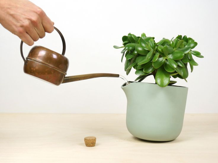 How many times have you forgotten to water a plant, only to remember once its leaves are starting to wilt? Studio Lorier has created a solution to this common problem with their self-watering planter.