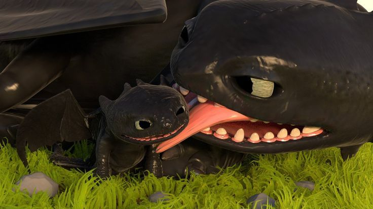 how to train your dragon night fury baby - Google Search