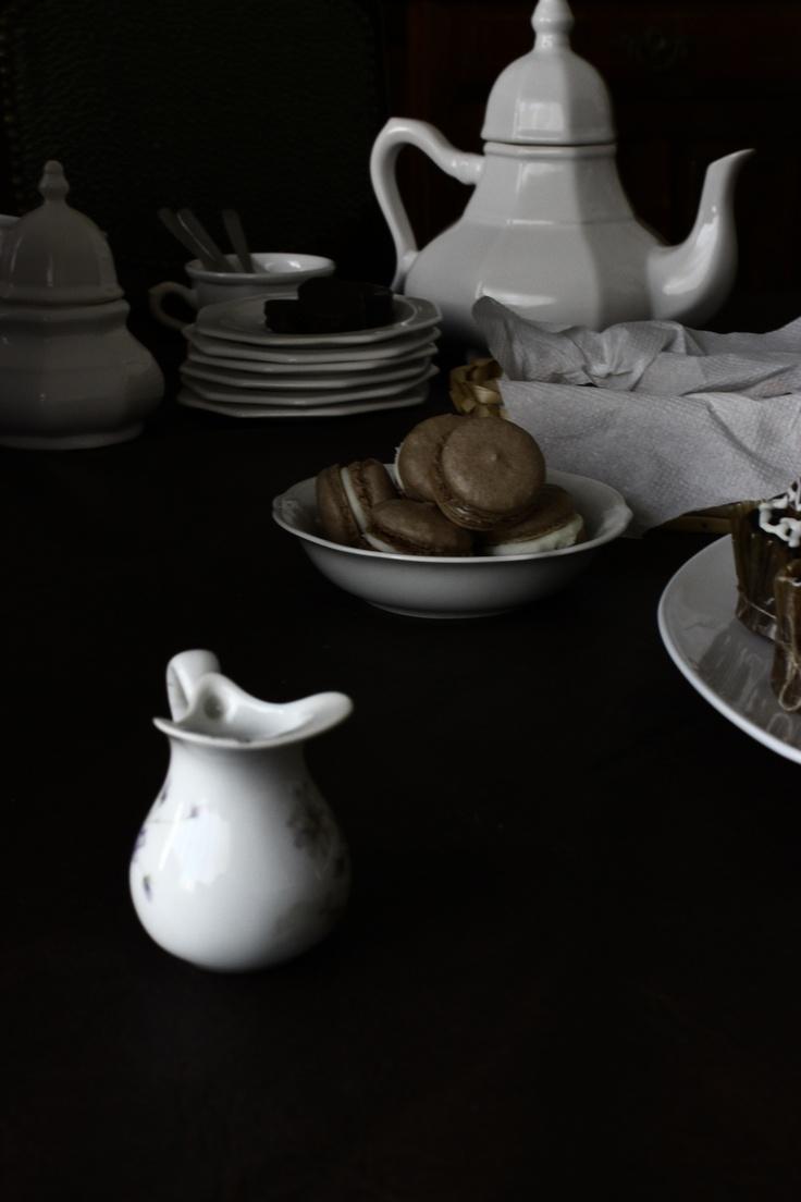 La mesa de té