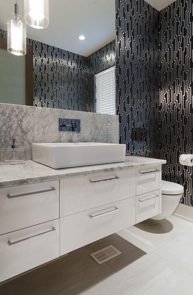 Modern Powder Room. Su Casa Design. Old World Kitchens ...