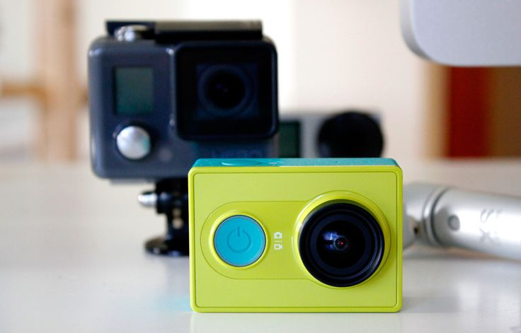 Xiaomi's affordable Yi action camera versus the GoPro Hero by James Trew | April 2015 Xiaomi's affordable Yi action camera versus the GoPro Hero