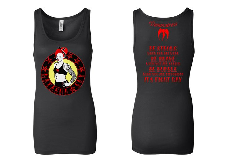Dominatress sponsored athlete t-shirt. Natasha Sky Rockabilly Babe Support shirt. Help support this amazing athlete by purchasing this shirt. Dominatress donates a % of $$ to the athlete for each shirt sold. Dominatress © 2013