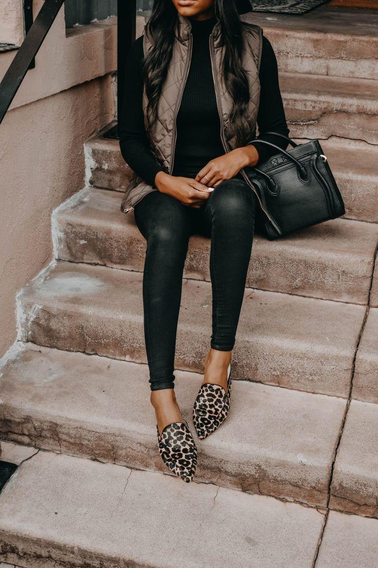 leopard print mules | Print shoes