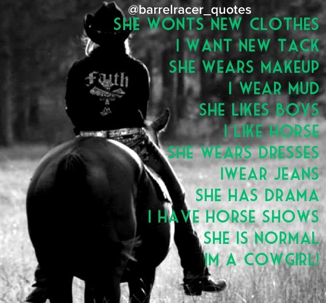 1000+ images about •Barrel Racing Quotes• on Pinterest ...
