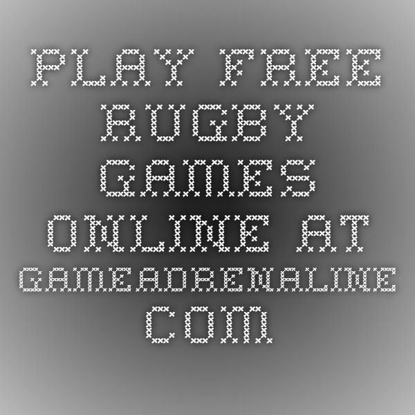Play Free Rugby Games Online at GameAdrenaline.com