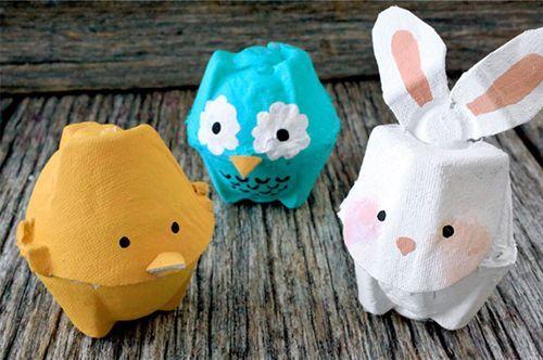 Animales con cartón de huevo - Manualidades | CantaEduca