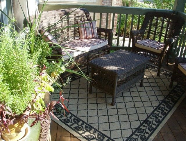 Blue Outdoor Carpet For Decks Or Patios