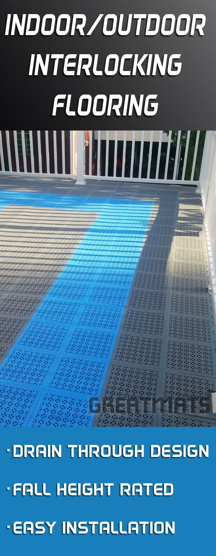 Best 25 outdoor flooring ideas on pinterest diy outdoor for Indoor outdoor flooring options