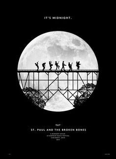 band night poster design tumblr - Google Search