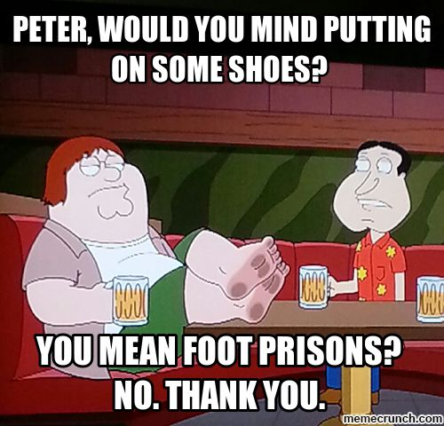 Foot Prisons New
