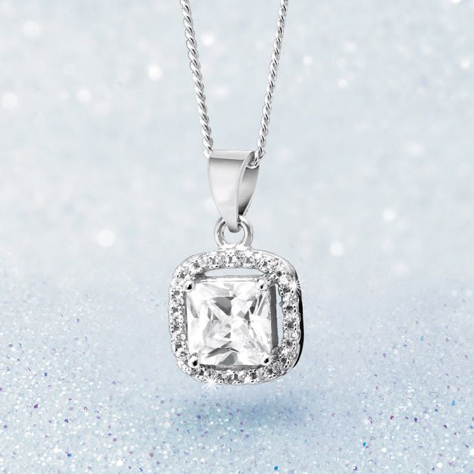 Silver and Cubic Zirconia Pendant With Free Chain R399  *Prices Valid Until 25 Dec 2013 #myNWJwishlist