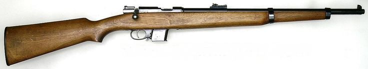 Spanish Destroyer Carbine 1772 The Destroyer Carbine is a small bolt action carbine usually chambered for the 9 x 23 mm Largo cartridge. It was used by Spanish police and prison services, including the Guardia Civil from the mid-1930s until the late 1960s, replacing the El Tigre Rifle. It continued the tradition, started in the 1890s, of issuing police units with a short, handy, repeating carbine in pistol ammunition calibre.