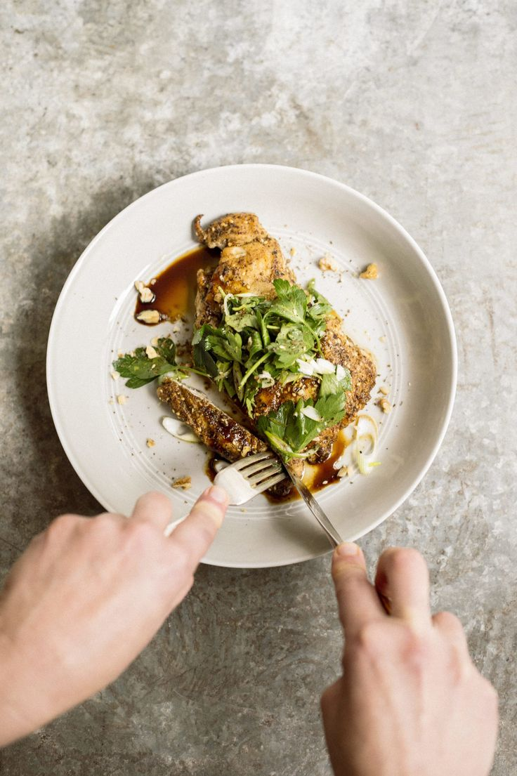 This chicken is as good at room temperature as it is hot. Mixing the za'atar with flour helped the crust adhere to the chicken. While we loved tart, smoky...
