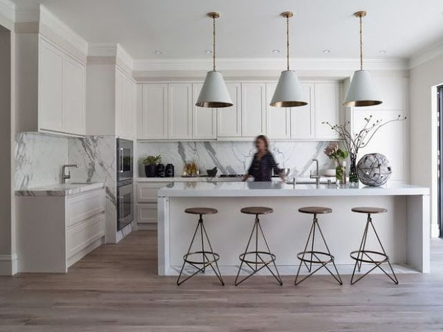 South Shore Decorating Blog: What I Love Wednesday: White Kitchens, White Bathrooms, White Living Rooms and More