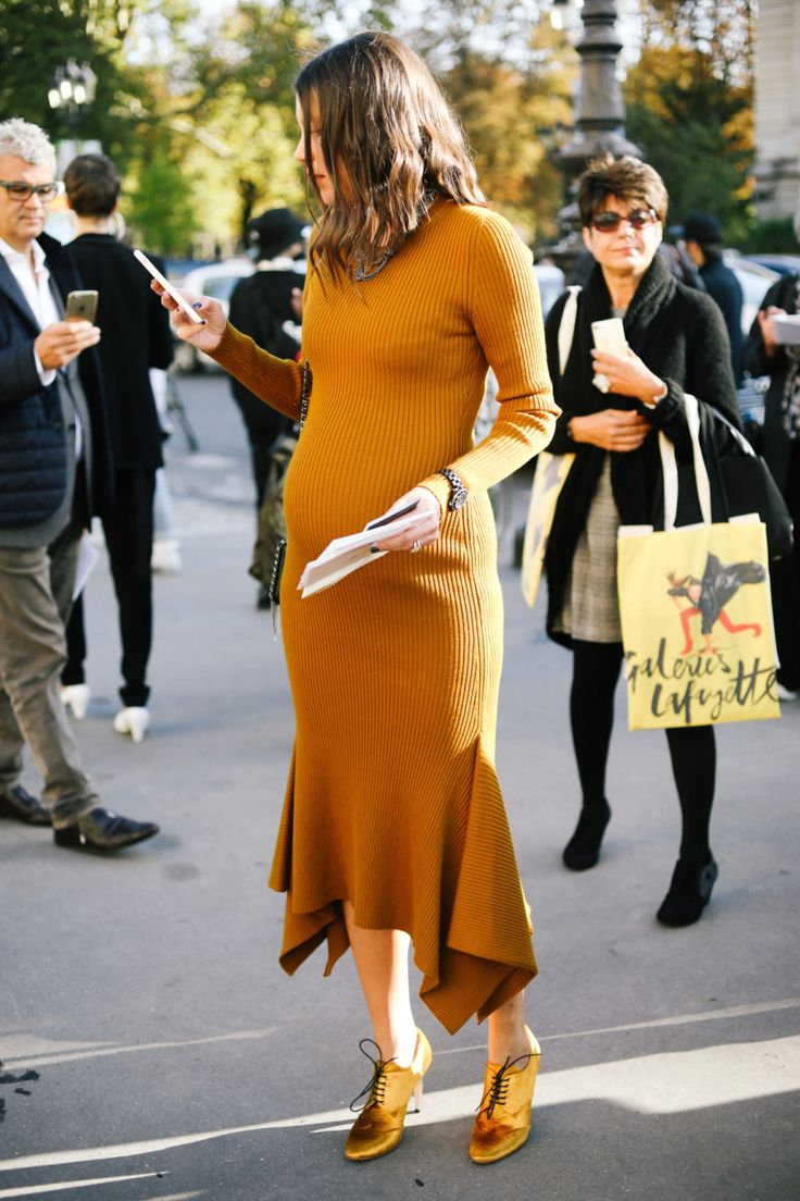 This take maternity style up a whole notch.