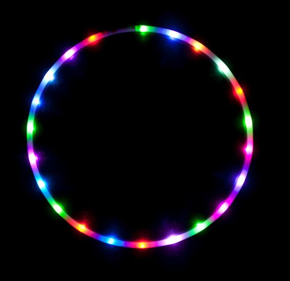 Free SHIPPING POLYPRO LED Hula Hoop  Cotton by ElectricLifeStylz, $95.00-- i want a poly pro so bad!!