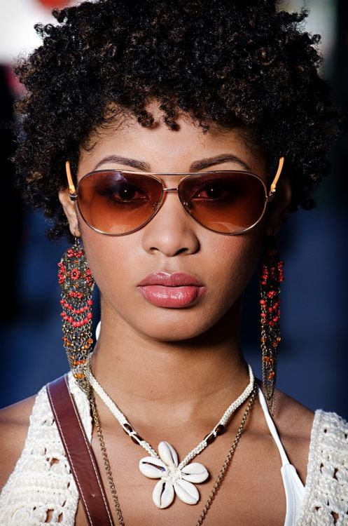 I Love this look, makes me want to big chop!