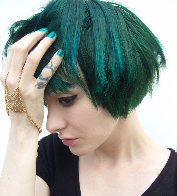 The Gothic Glam of Tying Tiffany:  La Riché Directions Hair Dye in Alpine