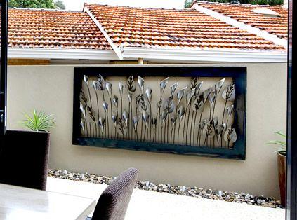 Outdoor Wall Art Metal best 25+ outdoor metal wall art ideas only on pinterest | metal