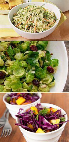 Легкие салаты из капусты / Простые рецепты