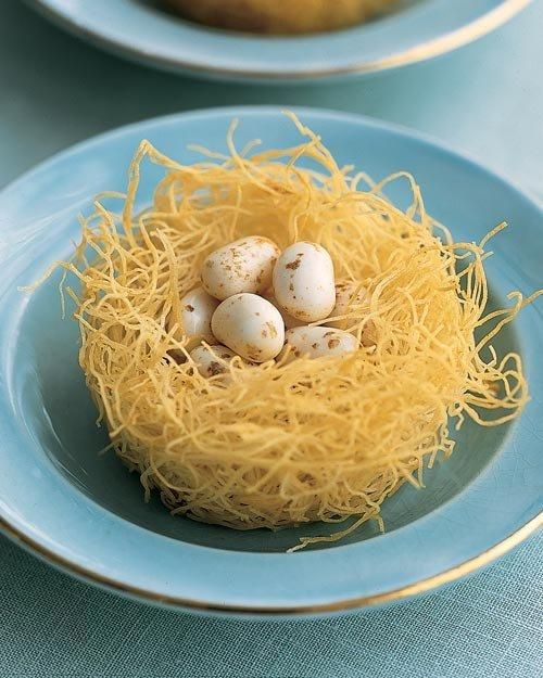 Phyllo Nests | Recipe | Nests, Easter and Easter Food